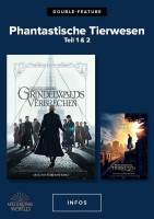 Double Feature: Phantastische Tierwesen Trailer und Infos