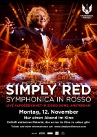 Simply Red: Symphonica in Rosso Trailer und Infos