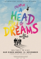 Coldplay - A Head full of Dreams Trailer und Infos
